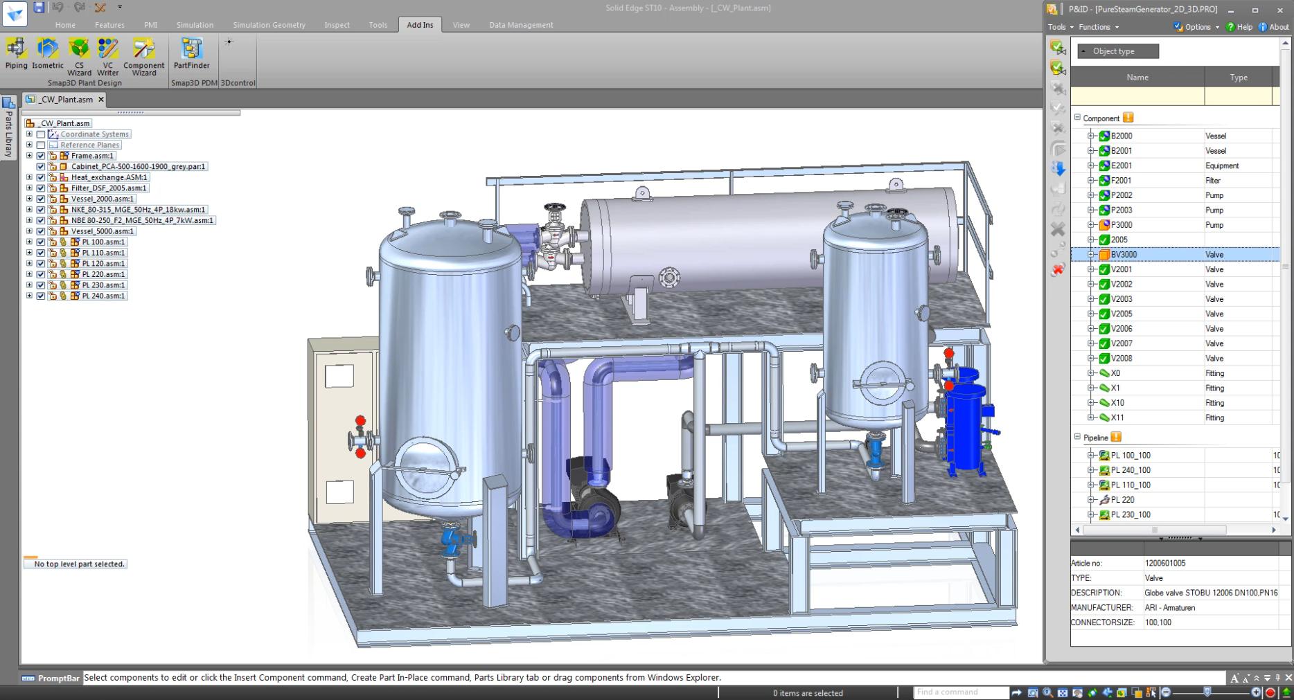 P-03_Plant-Design-Solid-Edge-Piping-Design